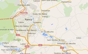 Maxéville, près de Nancy.