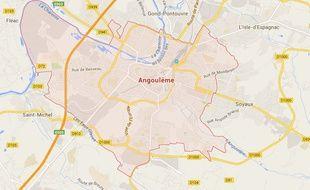 Google map d'Angoulême