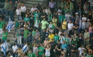 Des supporters du Maccabi Haïfa (Illustration).