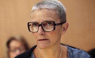 Nathalie Barré, la mère de Mathis, au tribunal de Caen le 3 juin 2015