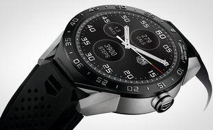 La première montre connectée de Tag Heuer, sous Android, coûte 1.500 dollars.