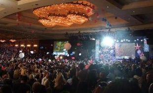 Ils étaient plusieurs milliers à faire la fête à l'Hôtel Hyatt, à Los Angeles