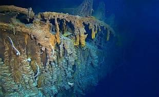 L'épave du Titanic qui gît par 3.810 mètres de fond.