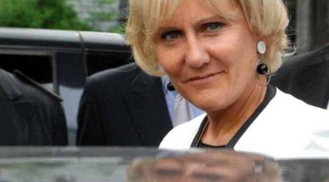 La ministre de l'Apprentissage Nadine Morano au CFA de Saint-Maurice  le 1er septembre 2011. – SIPA/ F. Durand