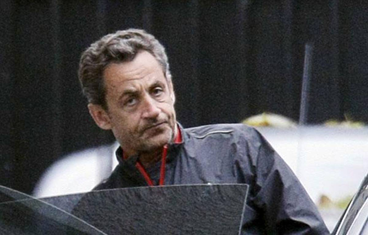 L'ancien président de la République Nicolas Sarkozy, le 10 novembre 2012 à Paris.  – DESSONS/BISSON/JDD/SIPA