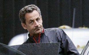L'ancien président de la République Nicolas Sarkozy, le 10 novembre 2012 à Paris.