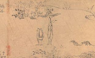 Le «plus vieux manga du monde» animé par le Studio Ghibli.