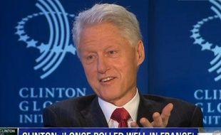 Capture d'écran d'une interview vidéo de Bill Clinton par CNN, le 26 septembre 2012.