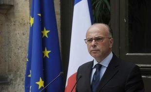Le ministre de l'Intérieur Bernard Cazeneuve, le 2 août 2014 à Paris