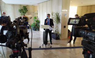 Le préfet des Alpes-Maritimes a tenu une conférence de presse ce vendredi matin