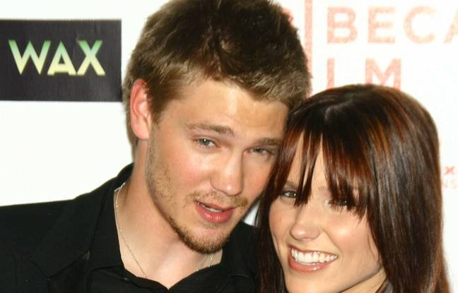 Les acteurs Chad Michael Murray et Sophia Bush à New York en 2005.