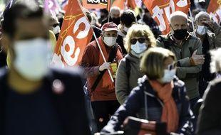 1er-Mai: plus de 106.000 manifestants en France dont 17.000 à Paris, selon le ministère de l'Intérieur