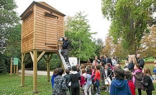 Le pigeonnier du parc Borély a été installé cet été.