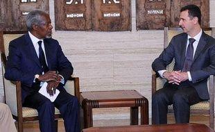 """Le médiateur international Kofi Annan, qui a rencontré mardi le président syrien Bachar al-Assad, lui a demandé de """"prendre des mesures courageuses maintenant"""" pour mettre fin aux violences, évoquant un """"moment charnière"""" après le massacre de Houla."""