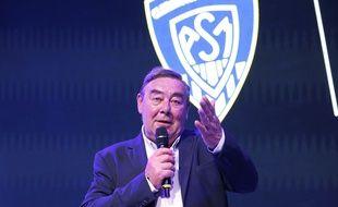 Le président de l'ASM, Eric de Cromières, en 2018.