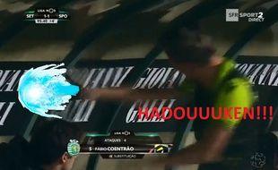 Coentrao s'est énervé sur le banc de touche