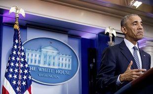 Barack Obama, le 14 novembre 2016 à la Maison Blanche.