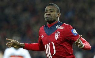 Le lillois Salomon Kalou auteur d'un doublé face à Lorient le 7 avril 2013.
