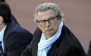 Le président du Racing 92, Jacky Lorenzetti,  le 10 avril 2016.