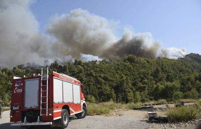 Incendies en Grèce : Des villages évacués, des blessés et des secours sur le qui-vive dans le Péloponnèse