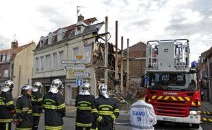 Une mère et son enfant sont morts dans l'effondrement de cette maison à Lille en 2014.