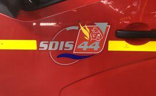 Illustration des pompiers du Sdis 44