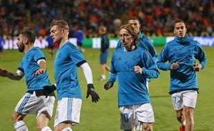 Modric et Kroos sont de retour à l'entraînement.