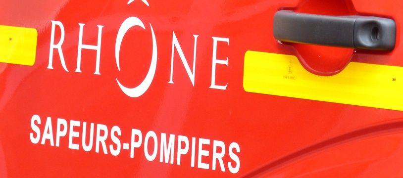 Un véhicule des pompiers du Rhône, en 2015 (image d'illustration).