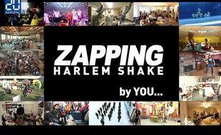 Aperçu du zapping «Harlem Shake».