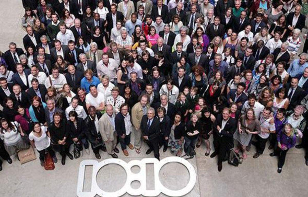 La campagne 10:10 est lancée le 5 Juin 2010 en France. – no credit