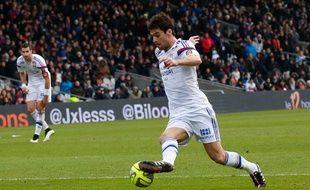 Yoann Gourcuff, le 25 janvier 2015 contre Metz.