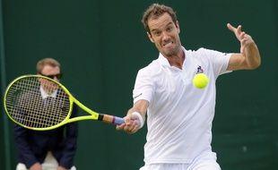 Richard Gasquet à Wimbledon, en 2016