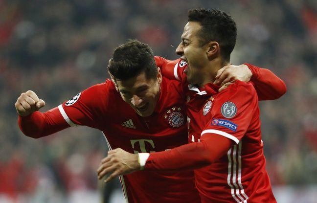 Le Bayern a un grand pied en quarts de finale
