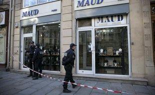 Une bijouterie de la rue Réaumur à Paris, braquée le 3 décembre 2013