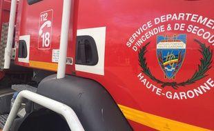 Un camion des pompiers de Toulouse. (Illustration)