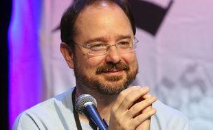 John Scalzi, en 2013, à Los Angeles.
