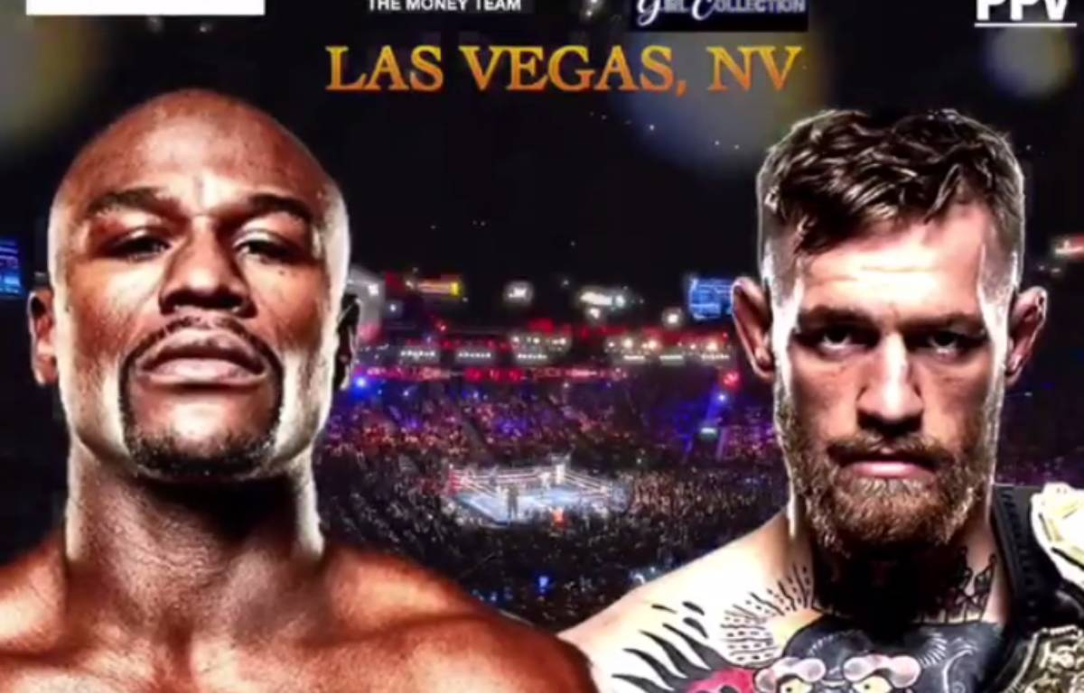 Mayweather vs McGregor – Capture d'écran