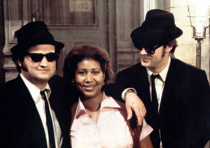 THE BLUES BROTHERS [US 1980]  JOHN BELUSHI, ARETHA FRANKLIN, DAN AYKROYD     Date: 1980