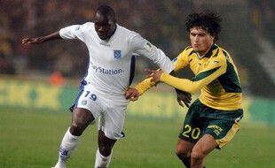 Karim El Mourabet face à l'Auxerrois Moussa N'Diaye en 2007.