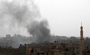 L'armée syrienne bombardait vendredi le quartier de Qaboun, dans l'est de la capitale, pour tenter d'en déloger les rebelles, a rapporté une ONG syrienne.
