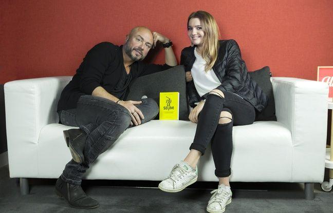 David Kuhn et Violette Duplessier, les auteurs de « J'ai le seum ».