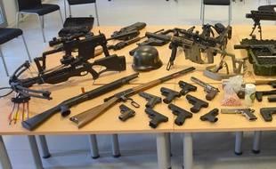 Un arsenal d'armes a été saisi à Saint-Sébastien près de Nantes