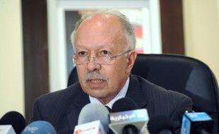 Khalid Naciri, le ministre de la communication et porte-parole du gouvernement marocain le 14 novembre 2010 à Rabbat.