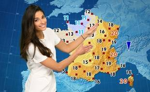 Tatiana Silva présente la météo sur TF1 depuis mars 2017.