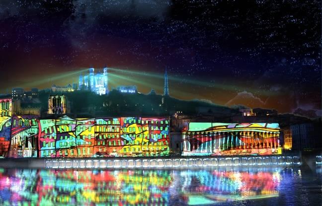 La colline de Fourvière sera transformée lors de la Fête des lumières 2018.