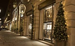 Les illuminations 2020 du  Faubourg Saint-Honoré débutent le 19 novembre.