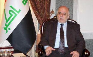 Le Premier ministre irakien Haïdar al-Abadi le 21 août 2014 à Bagdad