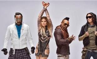 Will. i. am, Fergie, Apl.de.ap et Taboo de l'ancien groupe The Black Eyed Peas