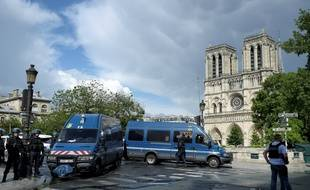 Le soir du 3 au 4 septembre 2016, une voiture piégée a été déposée devant Notre-Dame de Paris (image d'illustration)