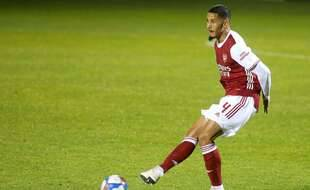 William Saliba en novembre 2020 sous les couleurs d'Arsenal